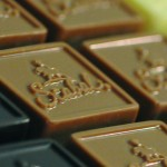 chocolade tabletjes reliëf