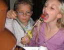 Lentefeest, communie, schoolfeest … chocoladefontein