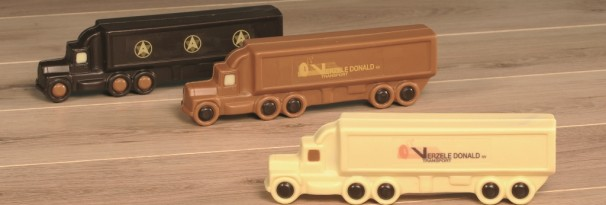 Chocolade vrachtwagens