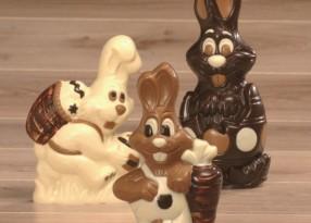 Paasfiguren chocolade