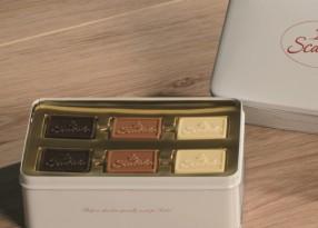 Reliëf tabletten chocolade