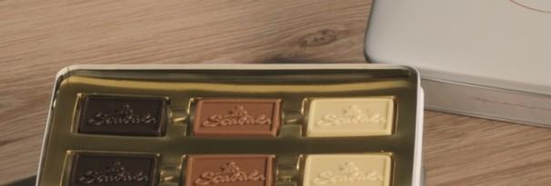 Luxe blik 18 reliëf tabletten