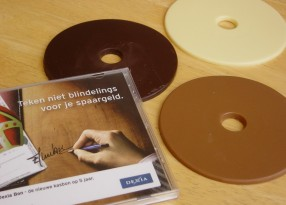chocolade CD Dexia Sint