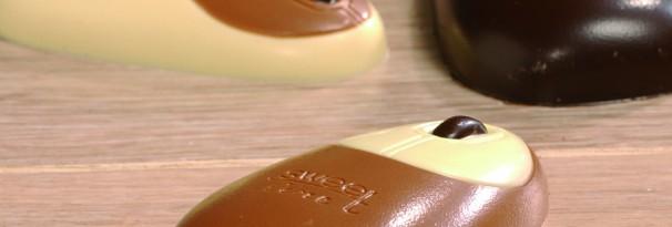 Chocolade computermuis