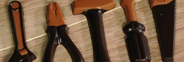 Chocolade gereedschapsset