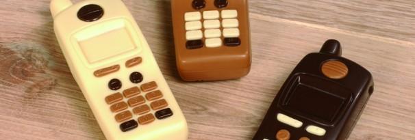 Chocolade GSM of telefoon