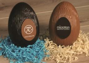 paasei chocolade 18cm gepersonaliseerd